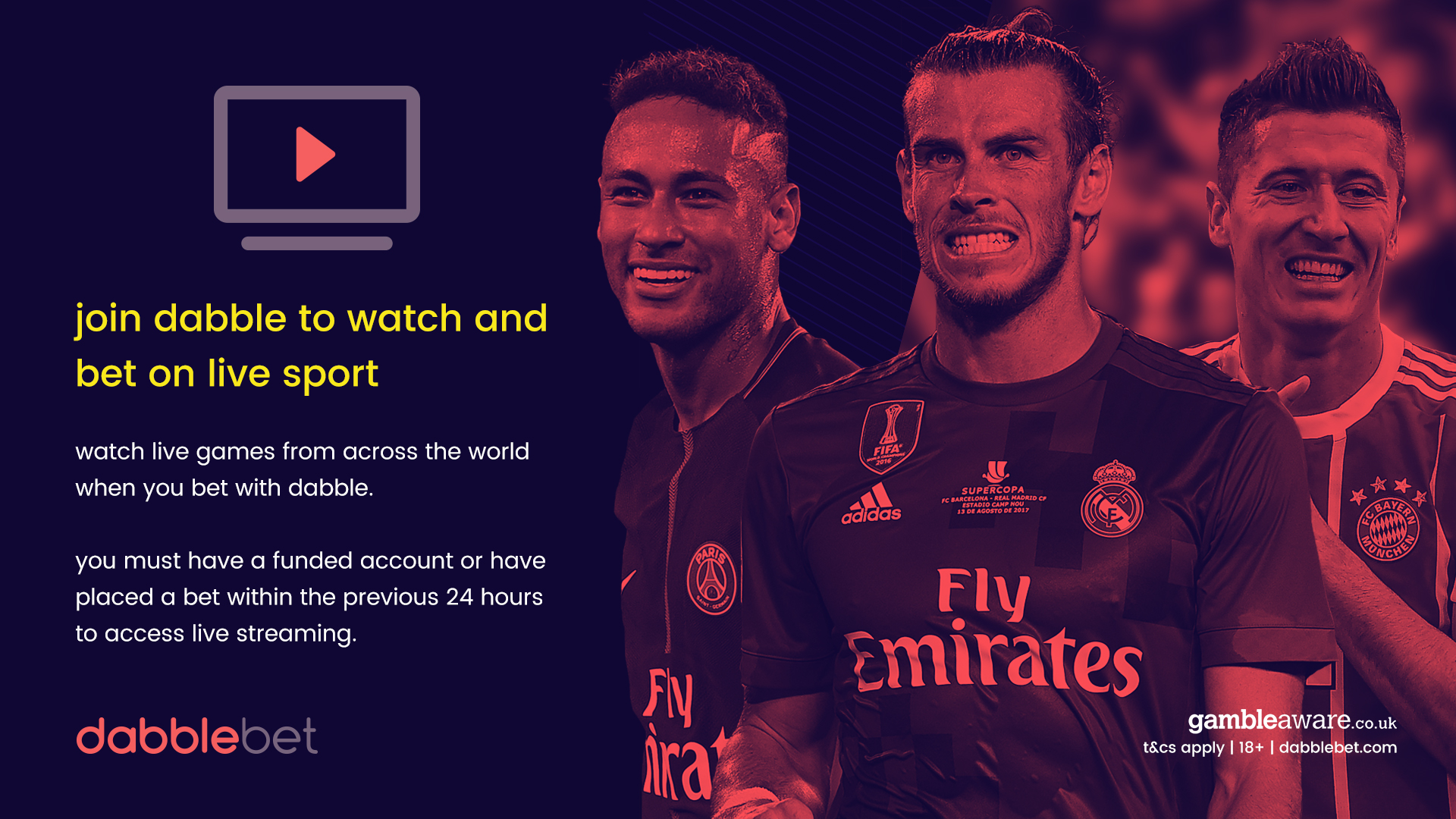 GFX WATCH AND BET DABBLE PROMO
