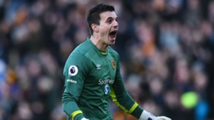 Eldin Jakupovic Premier League Hull v Liverpool 040217