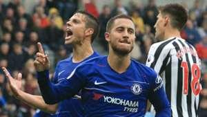 Eden Hazard Newcastle vs Chelsea 2018-19