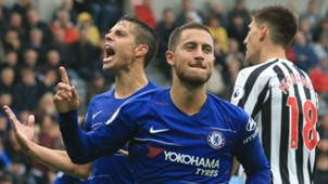 Eden Hazard Newcastle vs Chelsea 2018-19