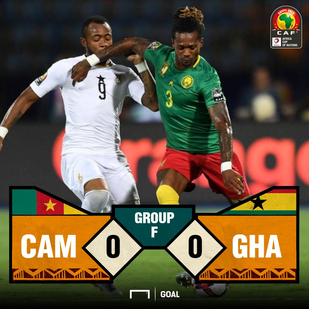 Cameroon v Ghana score PS