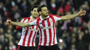 Aritz Aduriz Xabi Etxeita Athletic Bilbao Alaves LaLiga