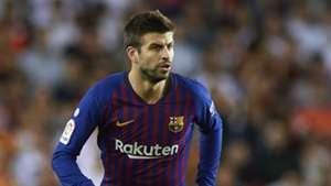 Gerard Pique Barcelona Valencia La Liga 07102018