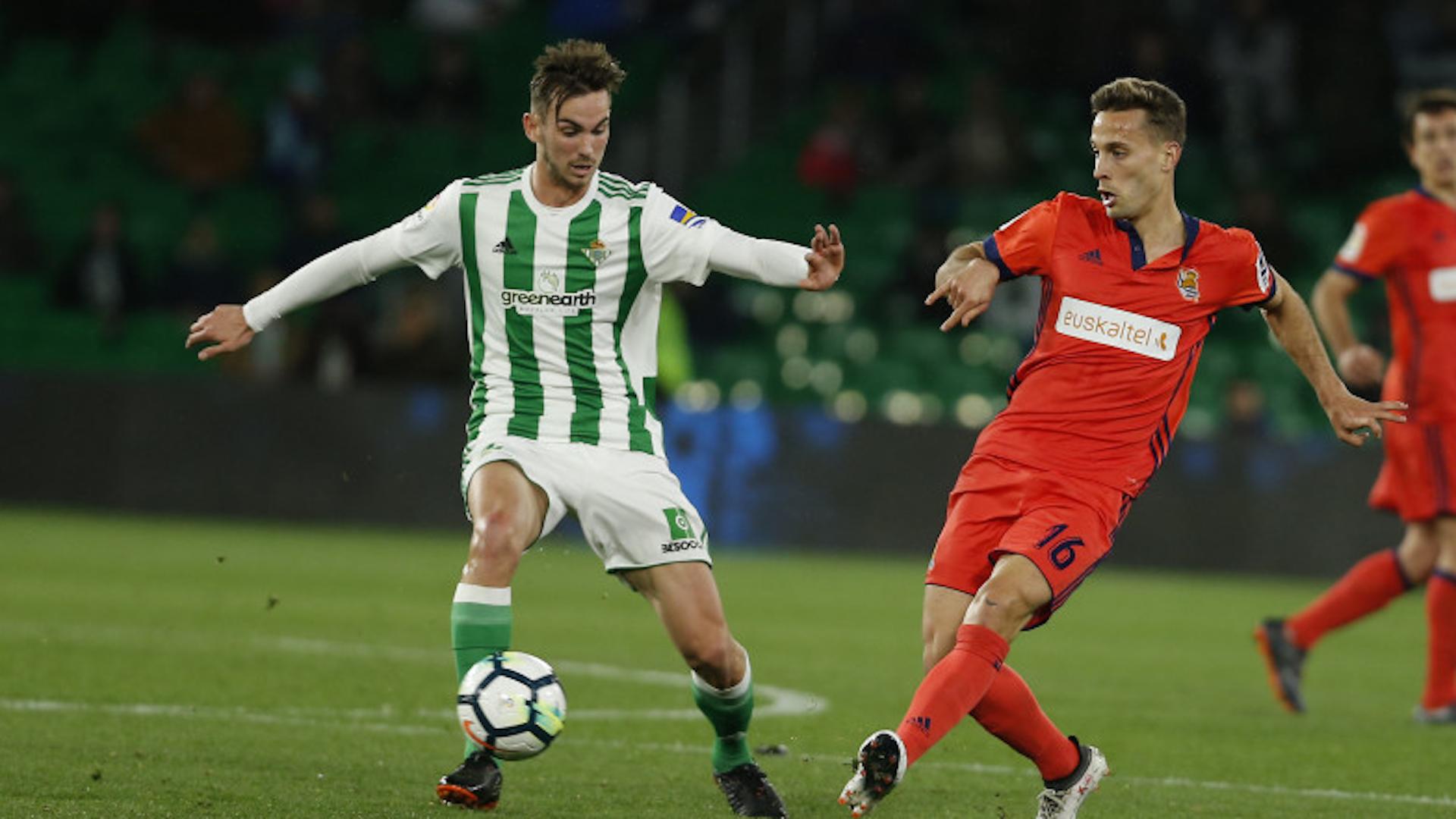 Fabian Canales Betis Real Sociedad LaLiga