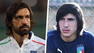 Andrea Pirlo Sandro Tonali Split