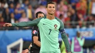 Cristiano Ronaldo Portugal vs Croatia Euro 2016