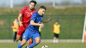 croatia U21 moldova - nikola vlasic - 27032018