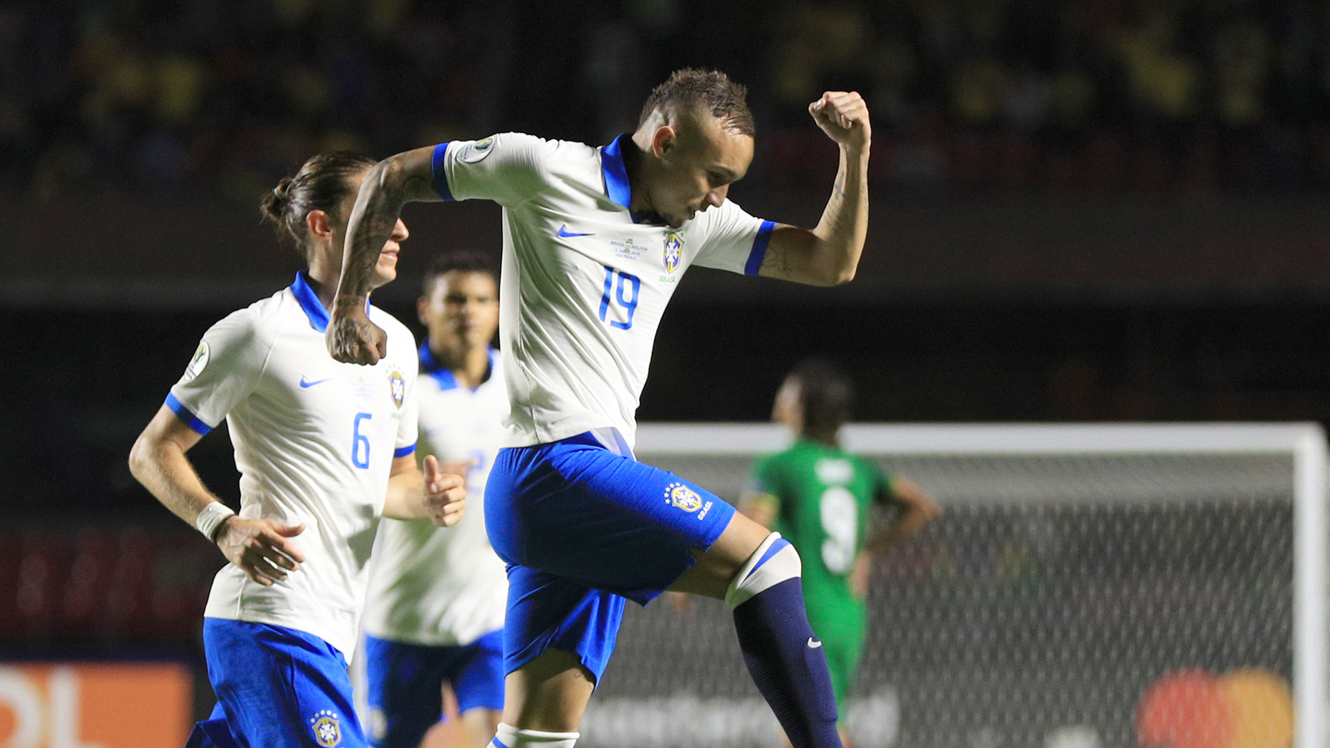 Everton Brasil Bolívia Copa América 14062019