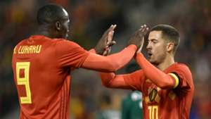 Romelu Lukaku Eden Hazard Belgium