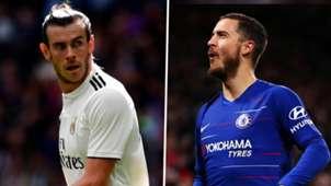 Gareth Bale Eden Hazard