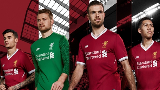 471e52ffa Liverpool go old school with new 125th anniversary home kit