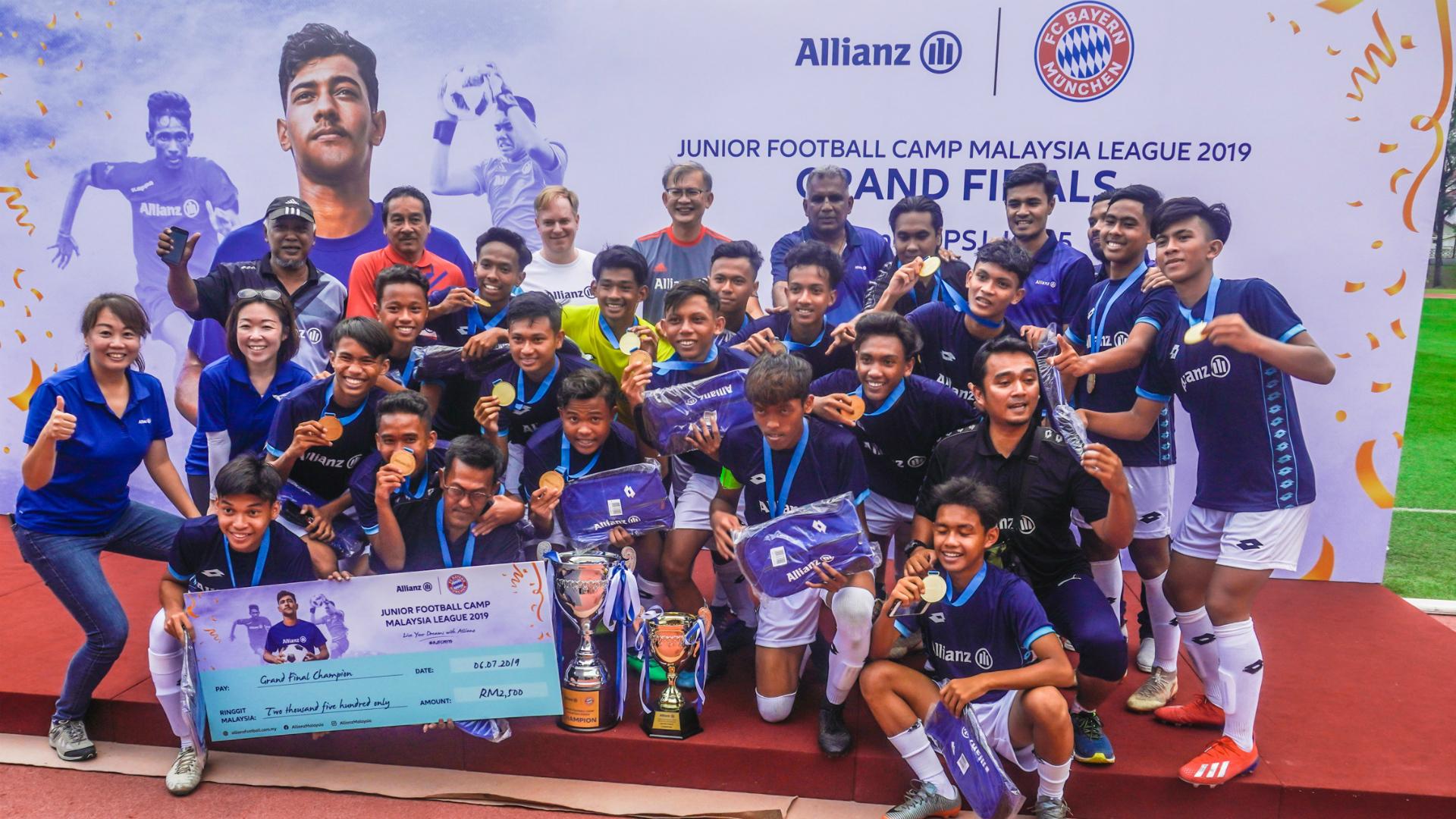 Allianz Junior Football Camp Malaysia 2019