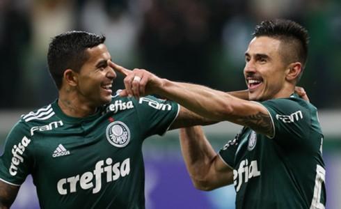 Dudu Willian Bigode Palmeiras Atletico-PR Brasileirao Serie A 05092018