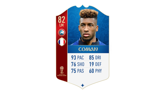 FIFA 18 World Cup France Coman