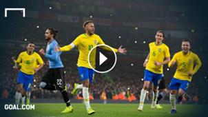 GFX Neymar Brazil Uruguay