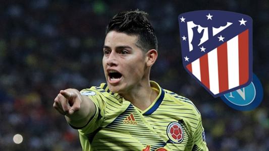 Bericht: Atletico Madrid vor Verpflichtung von James Rodriguez