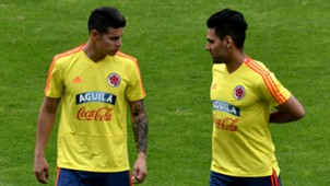 James Rodriguez Radamel Falcao Colombia