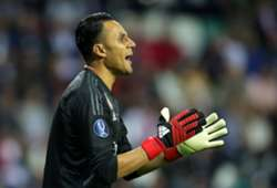 KEYLOR NAVAS CSKA MOSCU REAL MADRID CHAMPIONS LEAGUE