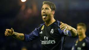 Sergio Ramos Real Madrid Celta LaLiga 17052017