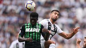 Khedira Duncan Juventus Sassuolo