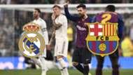 GFX Clasico Real Madrid Barcelona