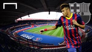 Neymar PSG Barcelona GFX