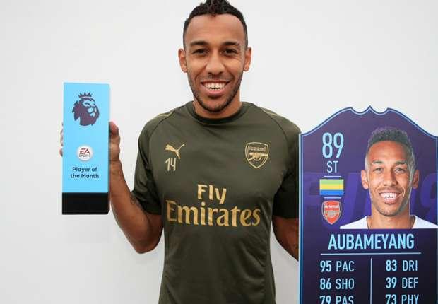 Arsenal - Pierre-Emerick Aubameyang élu joueur du mois d'octobre en Premier League