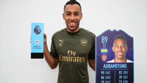 Pierre-Emerick Aubameyang Arsenal POTM