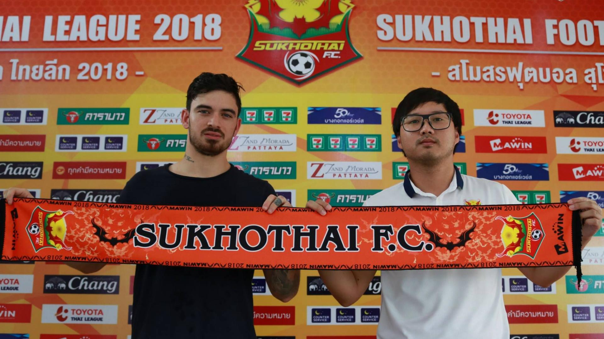 Curran Ferns, Sukhothai FC