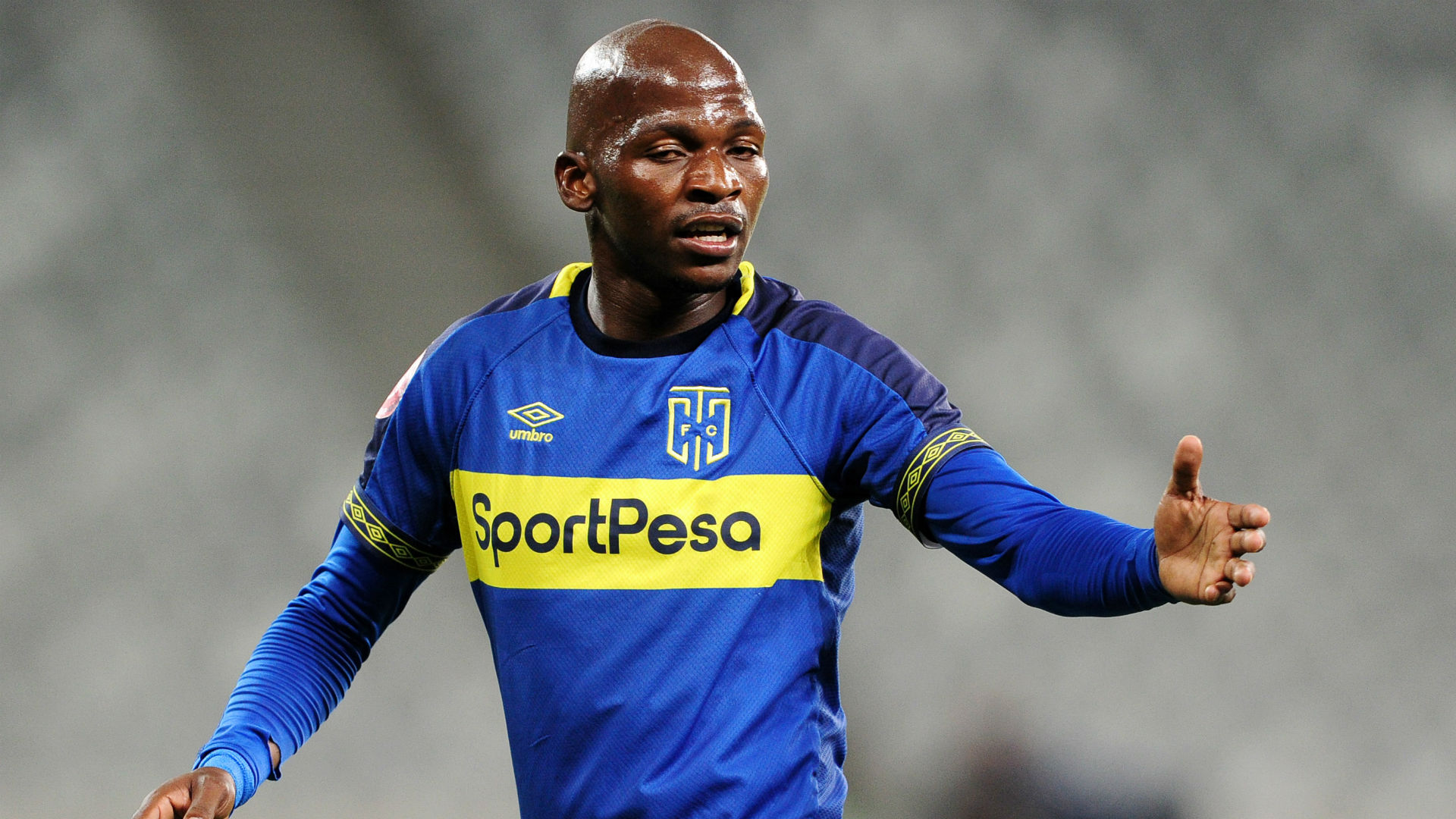 Thamsanqa Mkhize, Cape Town City, April 2019