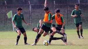 Mikael Tata, Muhammad Valeron & Frans Amaral - Timnas Indonesia U-16