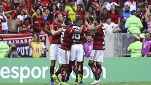 Henrique Dourado Flamengo Santos Brasileirão Série A 15112018