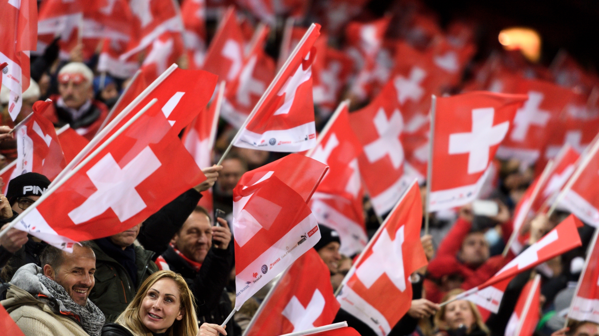 Switzerland fans
