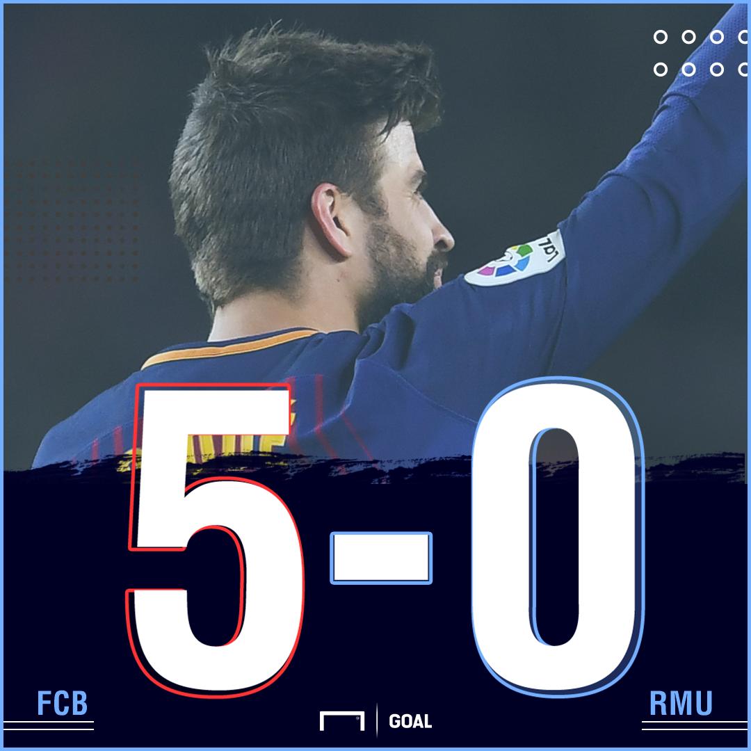 Barca Murcia score