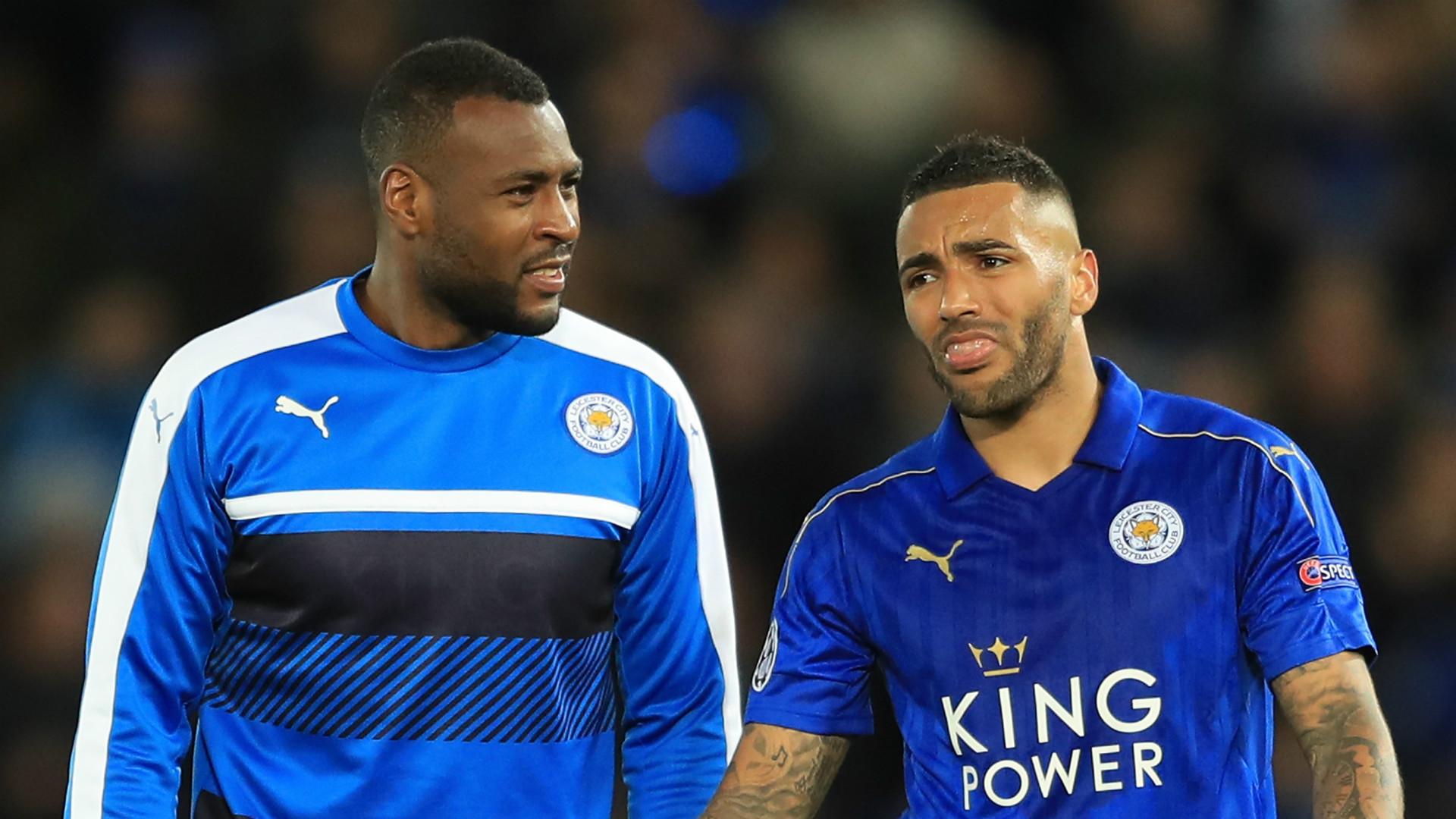 Wes Morgan Danny Simpson Leicester City