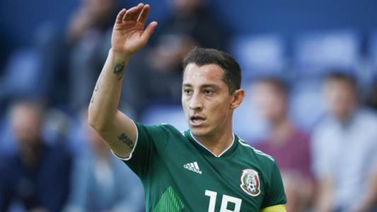 Andres Guardado Mexico Denmark international friendly 2018