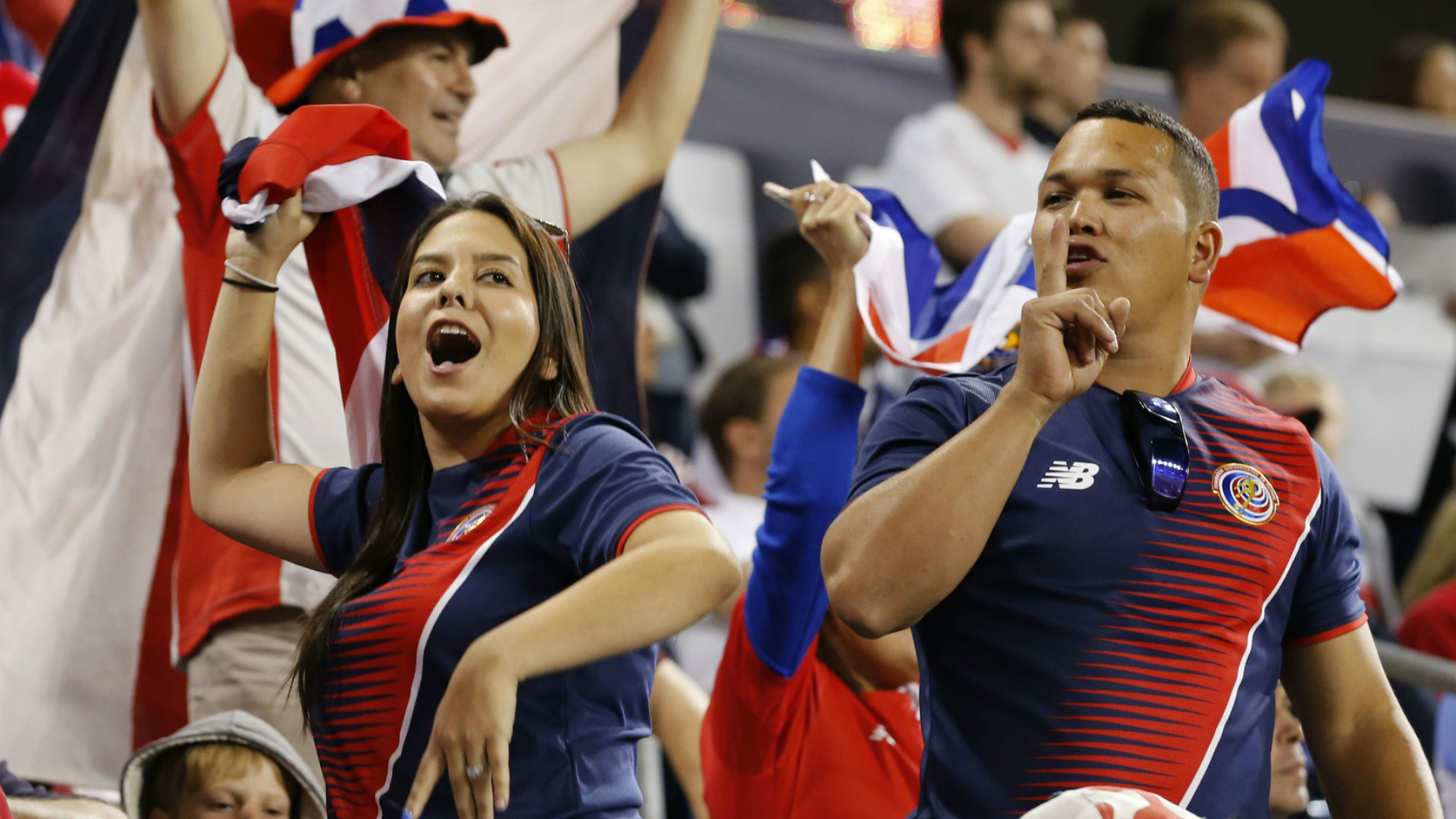 Costa Rica Fans Red Bull Arena 09012017