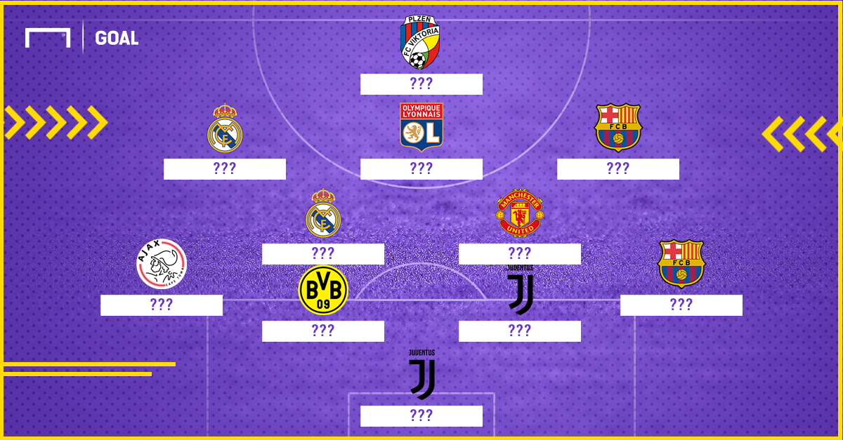 UCL Team of the Week 1