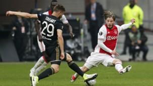 Lasse Schöne, Ajax - Olympique Lyon, Europa League, 03042017