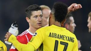 Dortmund Bayern Lewandowski Aubameyang Bundesliga 04112017