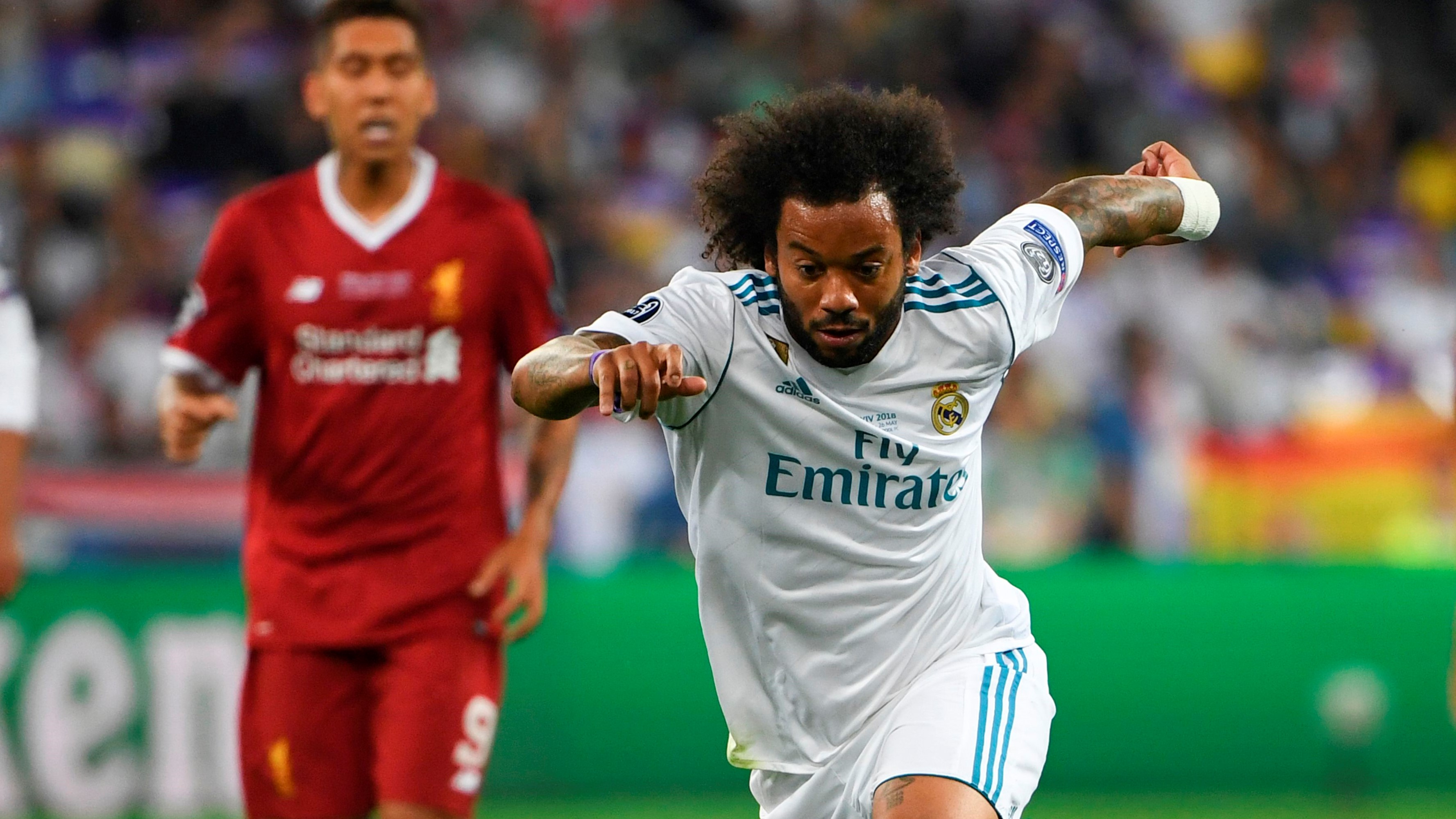 Marcelo Real Madrid Liverpool UCL