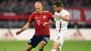 Arjen Robben Bayern Augsburg 25092018