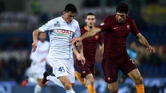 Federico Fazio Roberto Inglese Roma Chievo Verona Serie A 22122016