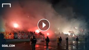 Belgrad Derby Pyro