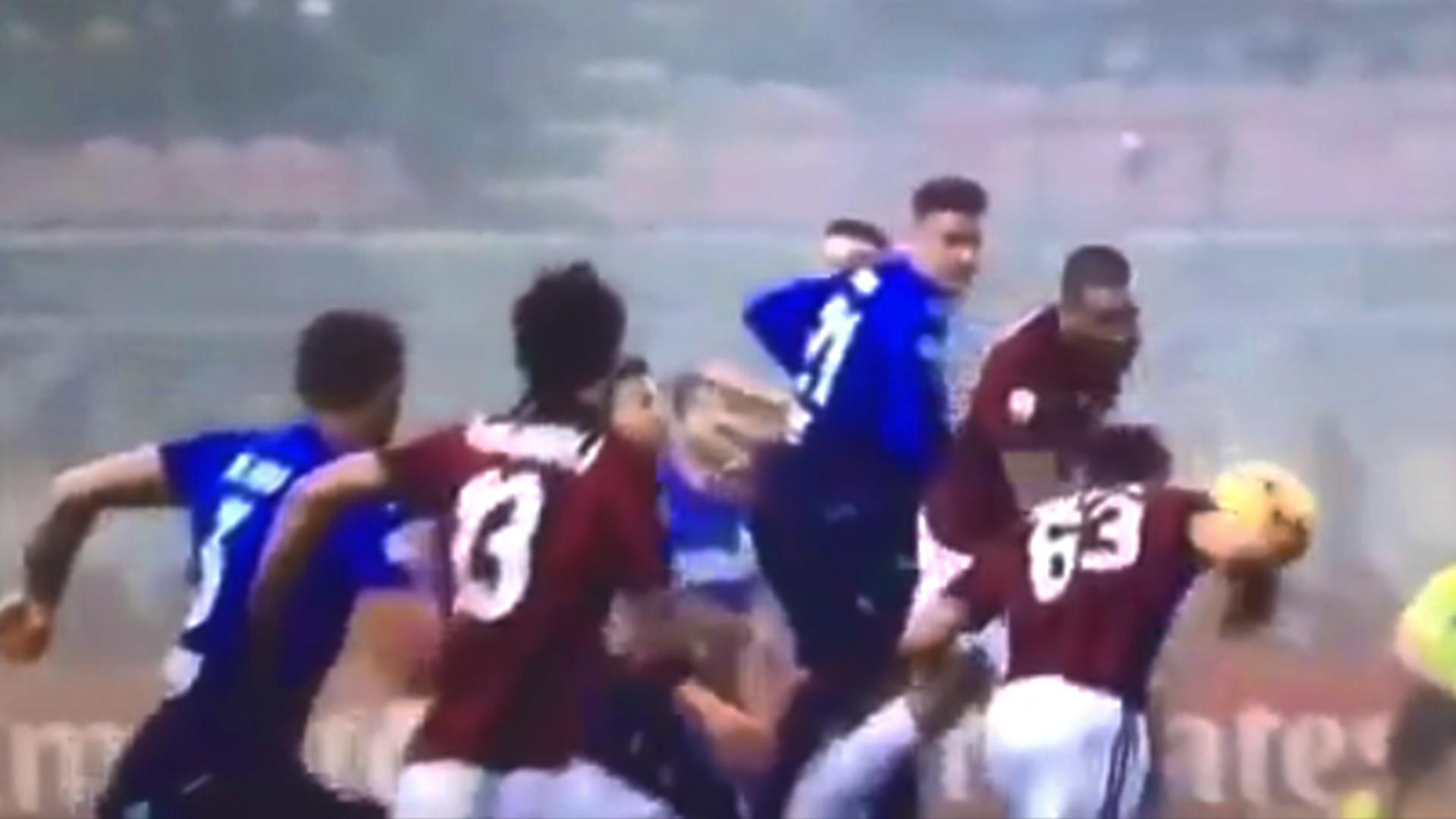 Goal di Cutrone in Milan-Lazio