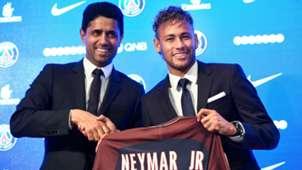 Neymar Al Khelaifi PSG