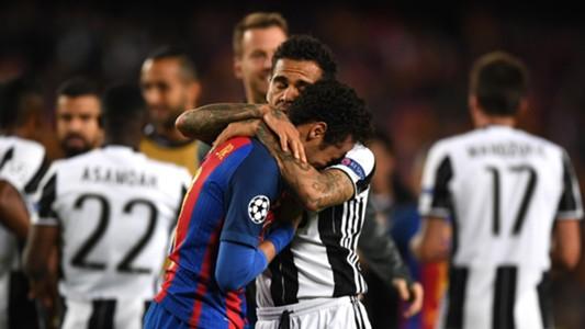 Dani Alves Neymar Barcelona Juventus UCL 19042017