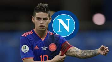 James Rodriguez, Colombia, Napoli Logo