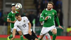 STEFAN LAINER AUSTRIA STUART DALLAS NORTHERN IRELAND NATIONS LEAGUE 18112018