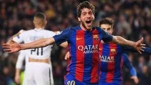 Sergi Roberto Barcelona Champions League